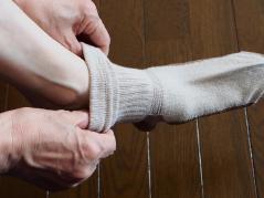 靴下は身に着けるアイテムだからノベルティ・販促品に最適!