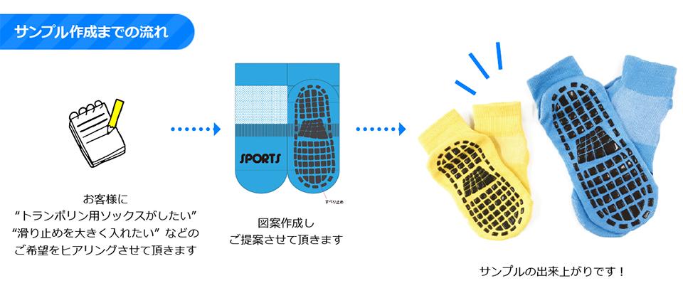 スポーツ・アウトドア用の靴下OEM・ODM製作事例
